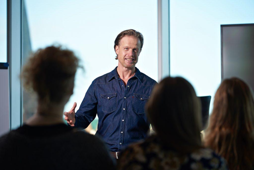 Foredrag med Martin Pallesen